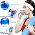 Microfiber Hypothermia Towels Exercise Sweat Summer Sports Cooling Ice Towel CN image