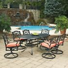 Home Styles Biscayne Elbow-joint Patio Dining Set - Seats 6