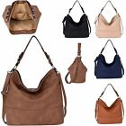 New Women's Stylish Adjustable Detachable Strap Faux Leather Slouch Bag