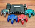 Kyпить N64 Nintendo 64 Console with New Controllers - Cleaned & Tested на еВаy.соm