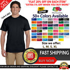 Fruit Of The Loom Mens T Shirt S to XL Blank HD Cotton Short Sleeves T-Shirt Tee image