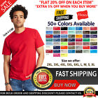 Hanes Mens Beefy-T T-Shirt 100% Cotton 5180 Lowest Price Blank Top T Shirt image