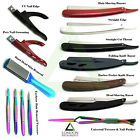 Hair Shaving Razors Straight Cut Throat Folding Knife & Eyebrow Hair Removal New