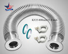 KF25 Flange Vacuum Bellow Hose 800mm SS304 + 2 Sets Clamper & O-ring Combo USA