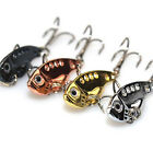 Sale Nice Metal Sequin Fishing Lures Bass Spoons Crank Bait Tackle Hook 1PC