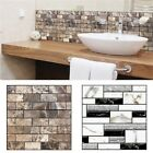 Pe Foam 3d Self Adhesive Wall Stickers Diy Home Decor  Embossed Brick Removable