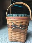 LONGABERGER WALL HANGING WELCOME BASKET COMBO PLASTIC PROTECTOR LINER 4 PIECES