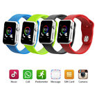Blue-tooth Smart Wrist Watch GSM Phone For Android Samsung A pple iOS i Phone LG