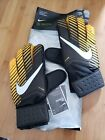 Nike GK Match Soccer Goalkeeper Goalie Gloves Black Yellow