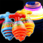 Colourful Light/Music Spring Gyro Peg-Top Spinning Tops Kids Children Toy GiftHK
