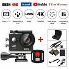 EKEN H9R Ultra HD 4K 1080P WiFi Action Camera Waterproof Sports Camcorder 30M