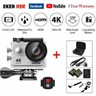 EKEN H9R Ultra HD 4K 1080P WiFi Action Camera Waterproof Sports Camcorder 30M <br/> Gift:1 *Selfie Stick + 2 *Battery+ 1 *Bag✔Eken Original