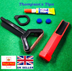 Snooker Cue Re-Tipping Kit - Sander, Clamp, Glue, Tips £6.85 GBP on eBay