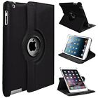 Smart Stand Leather Magnetic 360 Case Cover For Apple iPad 4 3 2 Mini Air 2 Pro