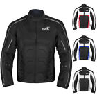 Men Motorcycle Jacket Motorbike Biker Riding Racing Men's All-Weather CE Armored