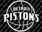 Detroit Pistons v2 Decal FREE US SHIPPING on eBay