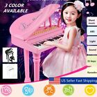 Kids Electronic Keyboard 31 Key Piano Musical Toy w/ Microphone