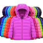 Children Jacket Outerwear Boys Girls Warm Duck Down Hooded Coat Sweater For Kids