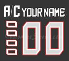 Team Canada Customized Number Kit for 2019 IIHF World Junior Champions Jersey