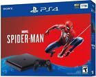 NEW Sony PlayStation 4 Slim Marvel Spiderman Bundle PS4 Console 1TB or 2TB