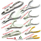 Nail Clippers Cutting Toenail Trimming Manicure Ingrown Nipper For Thick Nails