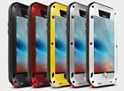 New Waterproof Shockproof Metal Aluminum Gorilla Case For iPhone 6 6S 7 Plus 5S