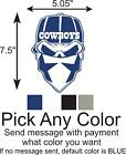 Dallas Cowboys Skull Logo Car/Truck Window DECAL Vinyl STICKER on eBay