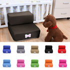 Foldable Pet Stairs Breathable Dog Cat Ramp Ladder With Removable Washable Cover