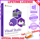 VISUAL STUDIO ALL VERSIONS EDITIONS LIFETIME LICENSE FAST EMAIL DELIVERY