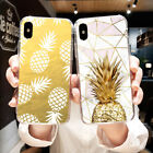 For Xiaomi Redmi Note 3 4 5 Soft TPU Case Cell Phone Back Cover Skins Pineapple