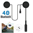 2019 Motorcycle Helmet Wireless Headset, Bluetooth 4.0 Intercom Headphone Stereo
