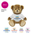 Personalised Name Presents for Little Big Best Sister Brother Charles Teddy Bear
