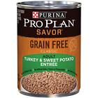Purina Pro Plan Grain Free Adult Canned Wet Dog Food 13 oz 12 PK Fast Ship