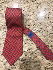 French H ermes * Monkey Fist Knot * 100% SILK NECK TIE # 966 SA - Made in France