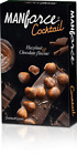 Manforce cocktail Chocolate & Hazelnut Dotted,Lubricated Condoms Benzocaine Oil