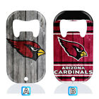 Arizona Cardinals Stainless Steel Bottle Opener Beer Bar Kitchen Decor $4.99 USD on eBay