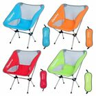 Portable Folding Camping Fishing Chair Ultralight Aluminum Alloy Carry Bags