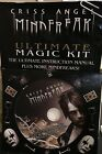 Criss Angel MindFreak Utimate Magic DVD Step by step & Manual(dvd & manual only)