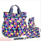SET BAG INSULAR BABY MULTIFUNCTIONAL BABY-BOTTLE CHANGER DIAPERS CLOTHING