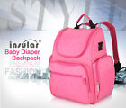 BACKPACK BAG TROLLEY INSULAR MOTHER BABY MULTIFUNCTIONAL BABY-BOTTLE DIAPER