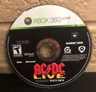 AC/DC Live: Rock Band Track Pack (Microsoft Xbox 360, 2008) DISC ONLY - Tested