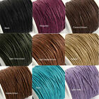 5m X 1mm Waxed Wax Cotton Cord String Thread - Macrame Craft Jewellery Making