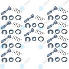 10 Set YOU.S Rep. Door Key Cylinder Front Right for Skoda Fabia I (6Y)