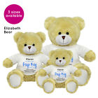 Personalised Name Page Boy Elizabeth Teddy Bear Wedding Favour Thank You Gift