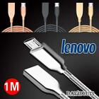Metal Micro USB Data Sync Charging Charger Cable For Various Lenovo Phones