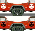 Set of 2 America US U.S. Army Distressed Star Vinyl Decal Sticker Dodge $26.95 USD on eBay