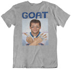 TOM BRADY GOAT T-SHIRT new england patriots 6 super bowl rings 2019 LIII champs image