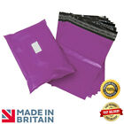 Premium Strong PURPLE Plastic Mailing Postal Poly Pack Postage Bags UK ALL SIZES