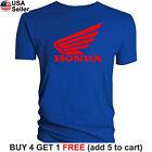 Honda Wing T-Shirt Logo Motorcycle Racing Motor Bike CRF XR CB CBR VFR CTX Sport