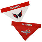 Washington Capitals Dog / Cat Reversible Bandanas SM/MD & LG/XL NHL $13.86 USD on eBay